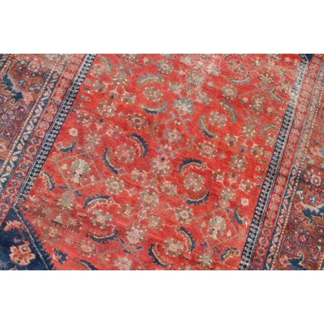 "Vintage Persian Rug - 4'11"" x 6'4"" - Image 8 of 10"