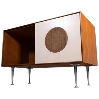 George Nelson Thin Edge Eames Stereo Cabinet Credenza For Sale