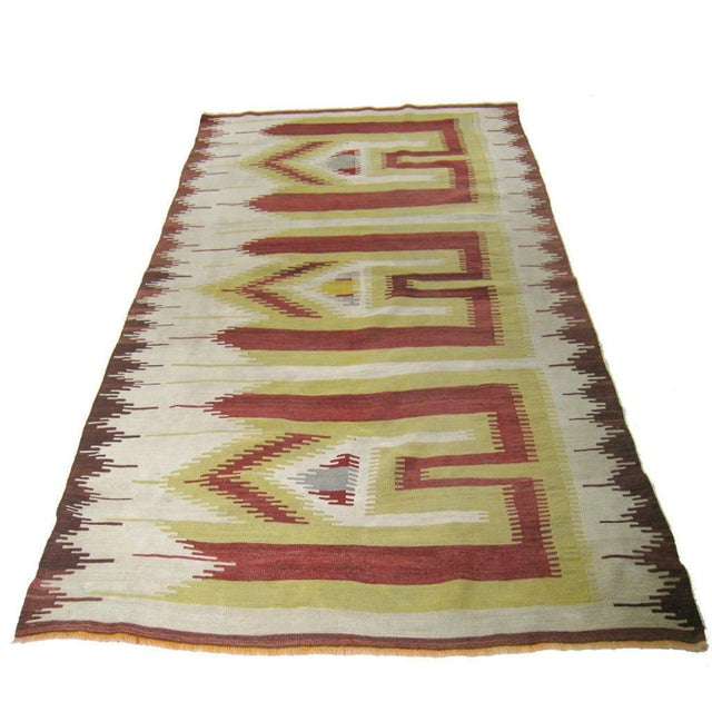 Antique Karapinar Prayer Mat | 4'1 X 7'3 For Sale - Image 6 of 6