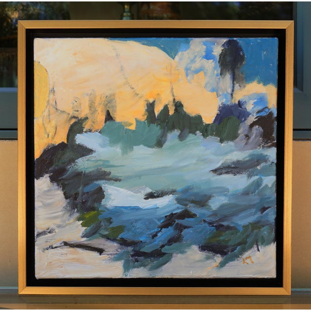 January Night Framed Painting For Sale In Los Angeles - Image 6 of 6