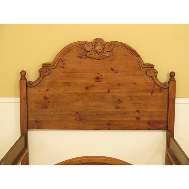 Habersham Plantation Queen Size Pine Country Bed For Sale In Philadelphia - Image 6 of 12