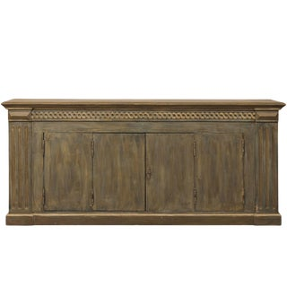 Mid 20th Century Brazilian Painted Wood Enfilade For Sale