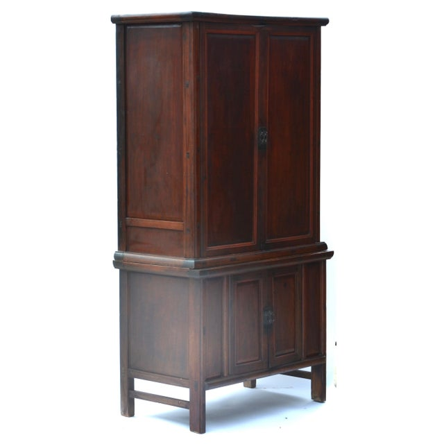Chinese 19th Century Chinese Camphor Wood Cabinet For Sale - Image 3 of 12