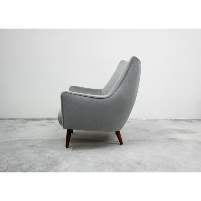 Contemporary Mid Century Danish Lounge Chair by Hans Olsen For Sale - Image 3 of 9
