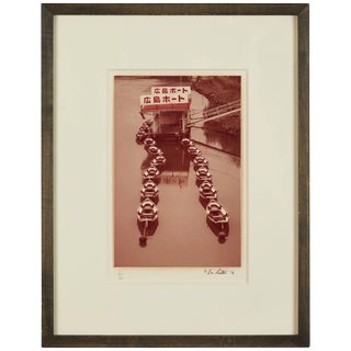 """Eric Lawton 1976 """"Japanese Boats"""" Photograph For Sale"""