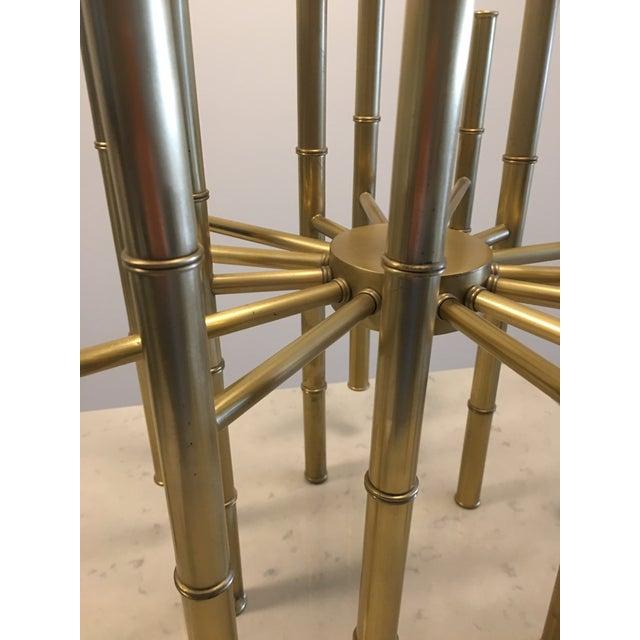 Jonathan Adler Meurice Brass Chandelier - Image 6 of 6
