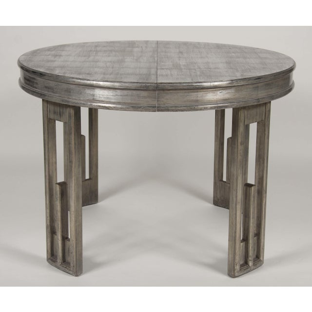 Silver Leaf Dining Table by James Mont For Sale In New York - Image 6 of 13