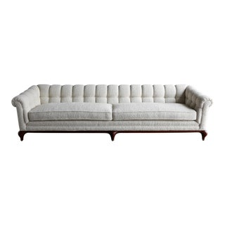 1960s Vintage Maurice Bailey for Monteverdi Young Tufted Sofa For Sale
