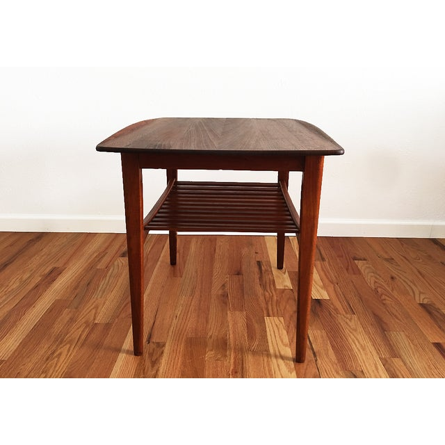 Tove & Edvard Kindt-Larsen 1960s Danish End Table For Sale - Image 5 of 9
