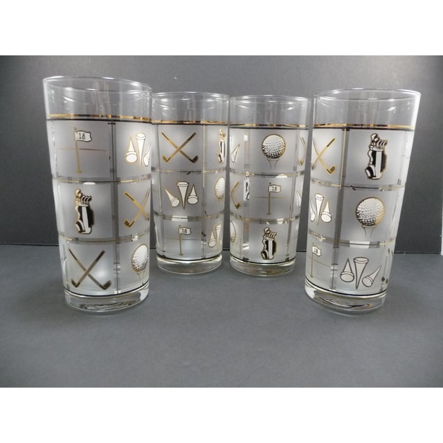Culver Vintage Glasses - Set of 4 - Image 2 of 8