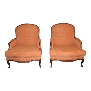 Bergere Accent Chairs Ethan Allen - a Pair Beautiful and Comfortable Seating