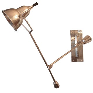 1920's Wall Lamp by Edouard Buquet For Sale