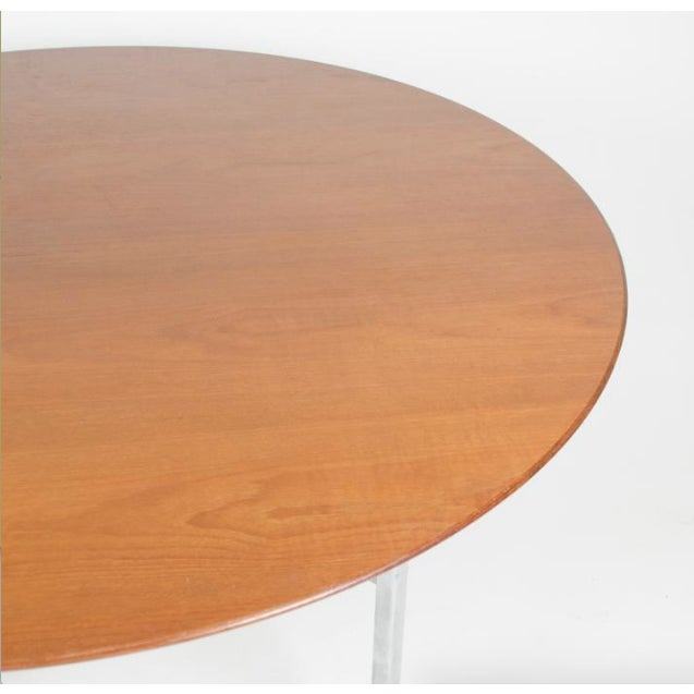Americana 1970s Mid-Century Modern Florence Knoll Dining Table For Sale - Image 3 of 11