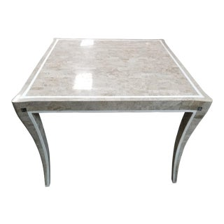 Traditional Mosaic Card Table For Sale