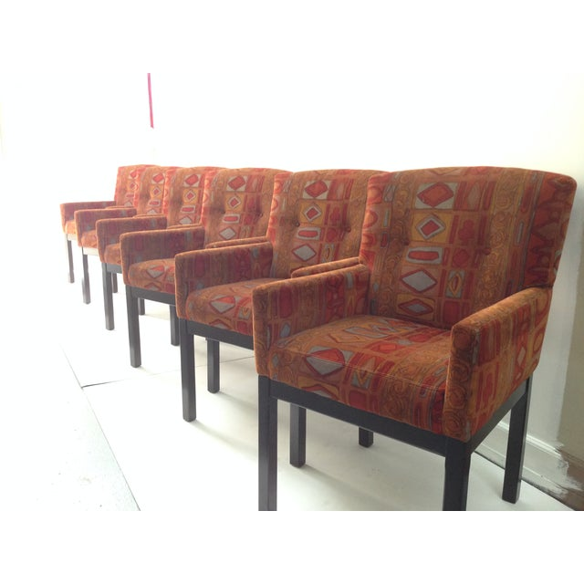 Harvey Probber Directional Chairs- Set of 6 - Image 3 of 7