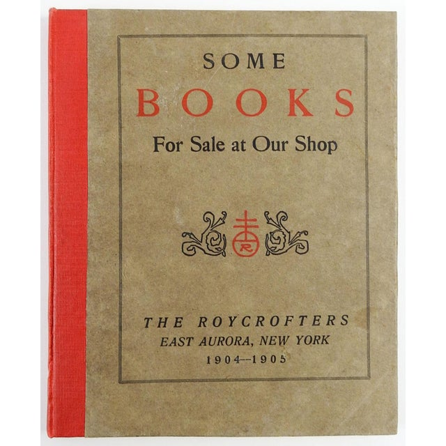 """""""Some Books For Sale at Our Shop"""" Roycroft Book Shop Catalog, 1905 For Sale In San Antonio - Image 6 of 6"""