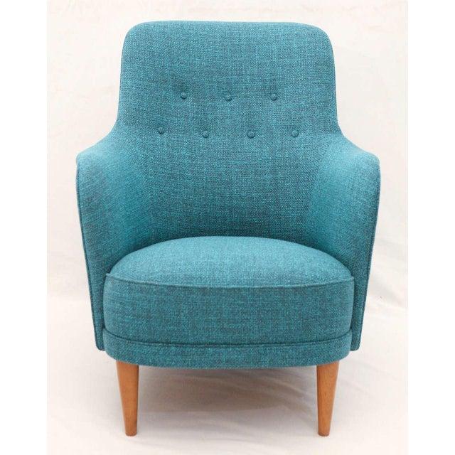 "Carl Malmsten ""Samsas"" lounge chair produced by O.H. Sjogren. Store formerly known as ARTFUL DODGER INC"