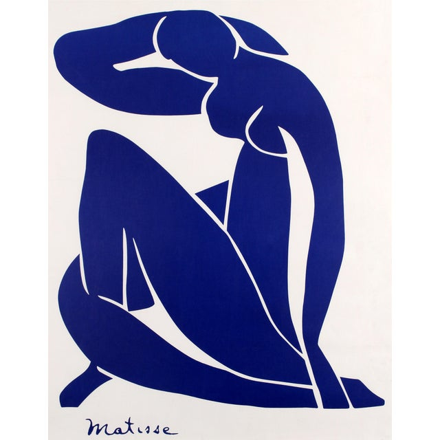 Henri Matisse Blue Nude II Poster Print Wall Art For Sale
