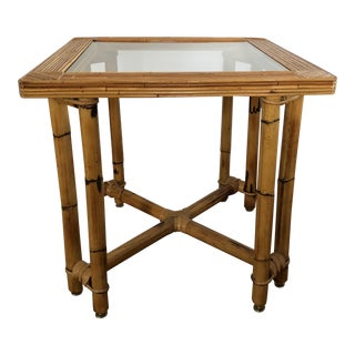 Mid-Century Pencil Reed Table