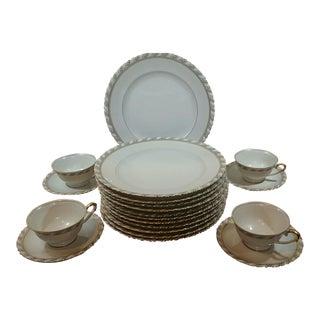 Selb Bavarian China Made in Germany/Bellerive James China Dinnerware - Set of 20