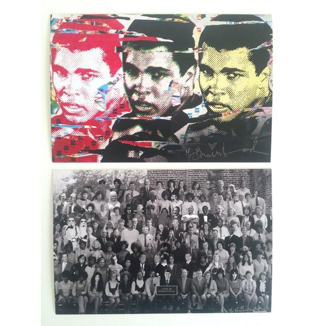 Mr. Brainwash Original Pop Art Exhibition Event Postcard Prints - Set of 10 For Sale - Image 4 of 11