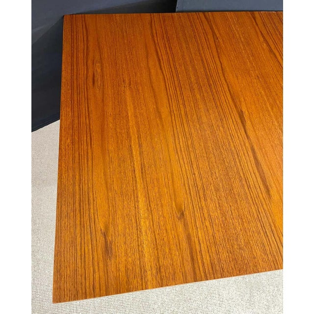George Nelson Herman Miller Dining Table, Mid-Century Modern Teak Wood For Sale - Image 12 of 13