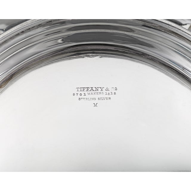 Art Nouveau Tiffany & Co. Chrysanthemum Silver Entree Dish For Sale - Image 3 of 4