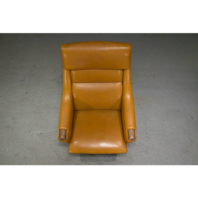 High Back Danish Modern Lounge Chair For Sale - Image 4 of 10