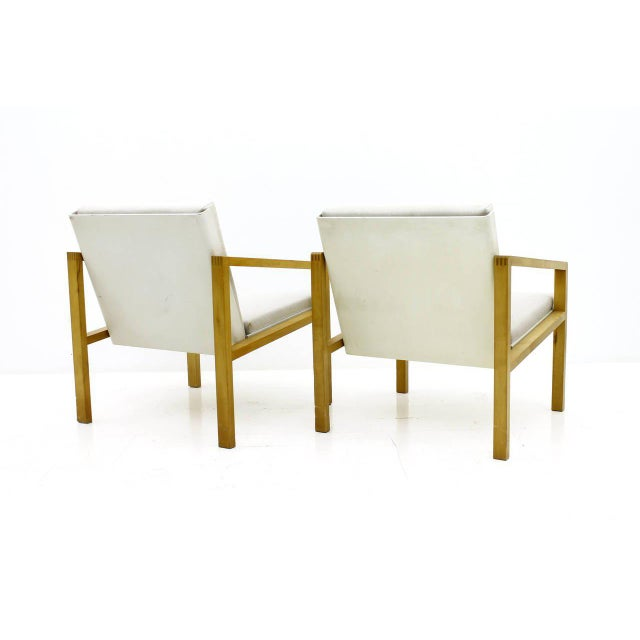 Hein Stolle Pair of Lounge Chairs by Hein Stolle, Spectrum, 1956 For Sale - Image 4 of 7