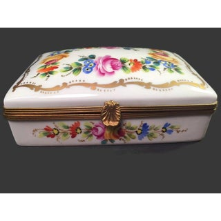 Vintage French Limoges Porcelain Box Preview