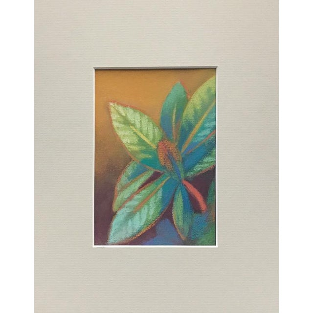 Contemporary Rhododendron Vibrant Pastel Drawing For Sale - Image 3 of 3