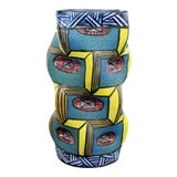 Image of 1990s Contemporary Modern Memphis Signed Ceramic Art Vase Vessel George Bowes For Sale