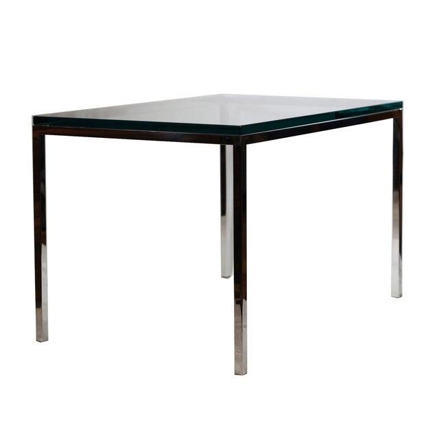 Mid-century Brueton Stainless Steel Side Table - Image 2 of 5