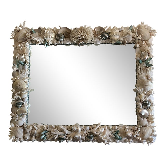 Horizontal Shell Mirror For Sale
