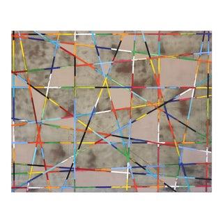 """""""Diagonal Grey"""" Original Artwork by Petra Ros Nickel For Sale"""