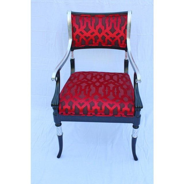 Italian Italian Accent Chair For Sale - Image 3 of 6