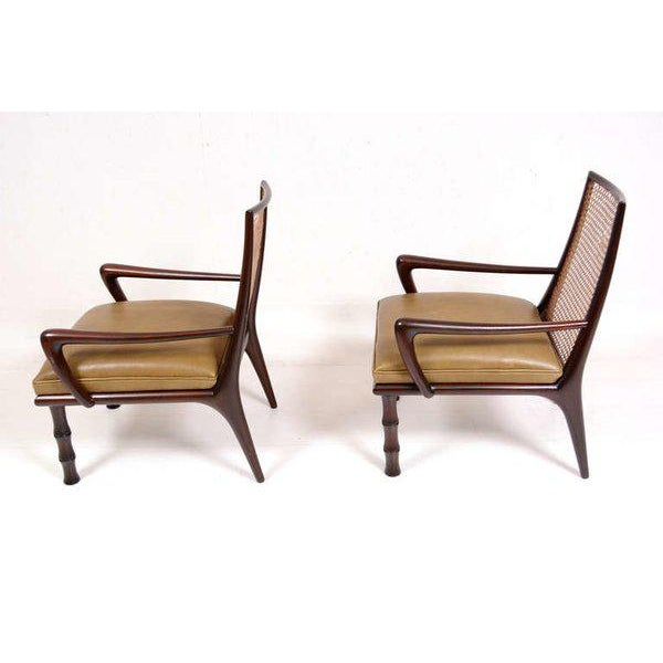Mid-Century Modern Mexican Modernist Lounge Chairs Attributed to Eugenio Escudero For Sale - Image 3 of 9