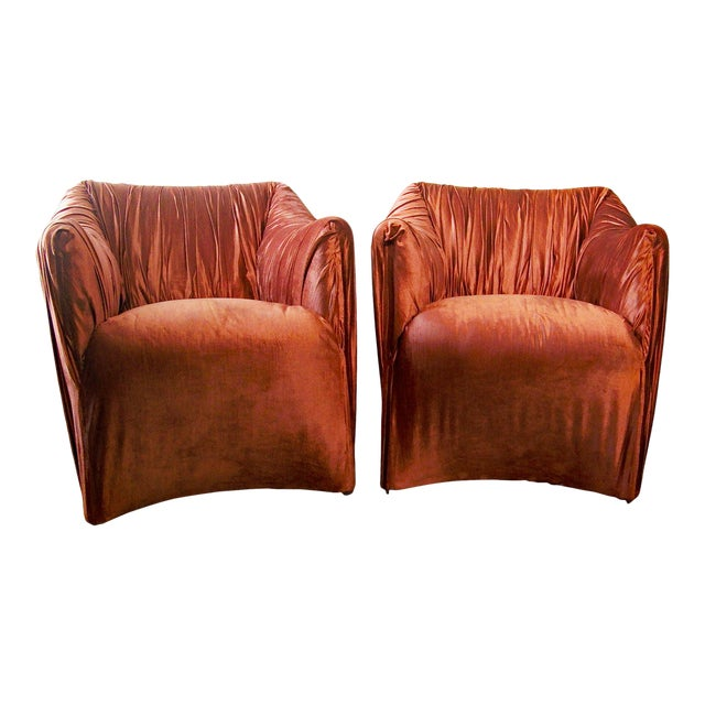 "1970s Mario Bellini for Cassina ""Tentazione"" Chairs - a Pair For Sale"