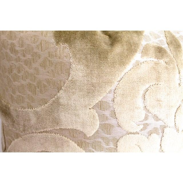 Cut Velvet Damask Pillow - Image 3 of 3