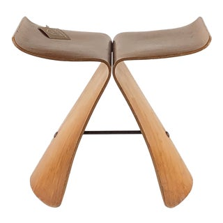 1950s Vintage Sori Yanagi Butterfly Stool For Sale