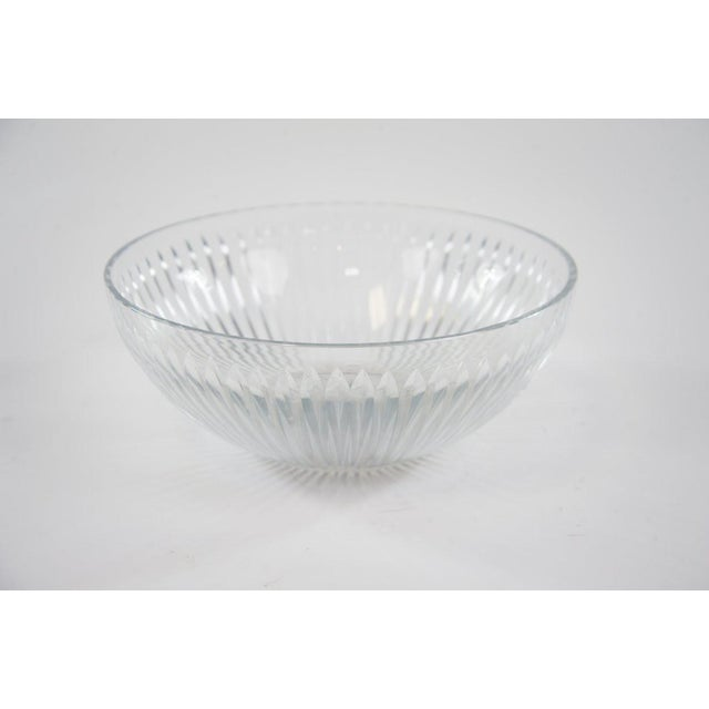 Contemporary Cut Glass Bowl - Image 5 of 5