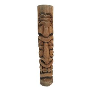 """Ornate Vintage Tiki Statue 38"""" Tall"""