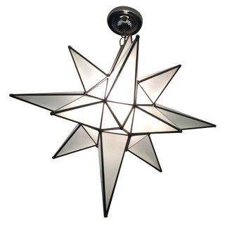 Moravian Star Light Fixture