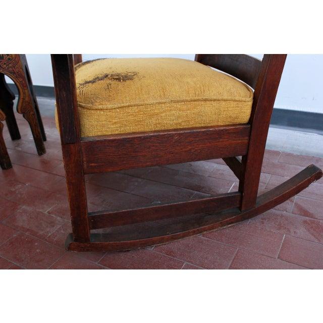 1900s Antique L Jg Stickley Rocking Chair Chairish