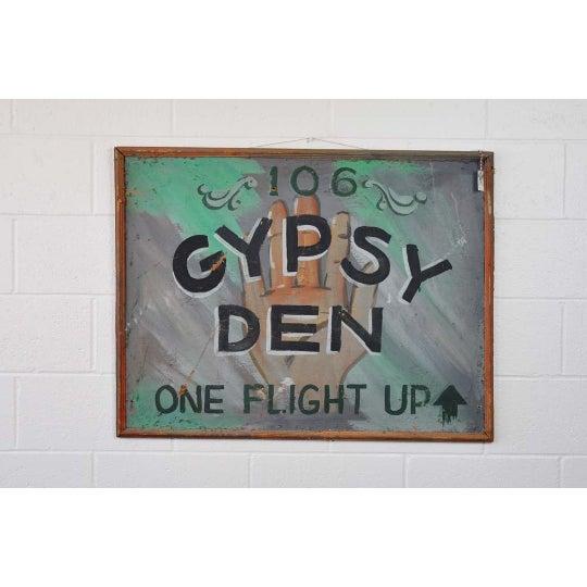 1970s Vintage Gypsy Den Fortune Teller Sign - Image 4 of 5