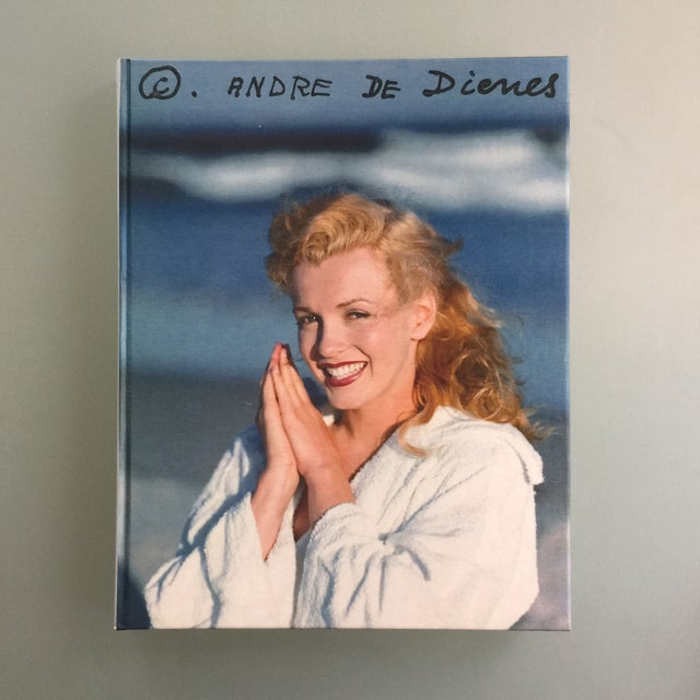 "Pop Art ""Marilyn"" by Andre De Dienes Taschen Hardcover Oversize Boxed Book For Sale - Image 3 of 12"