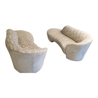 1980's Vladimir Kagan Cloud Cloud Sofas/ Pair For Sale