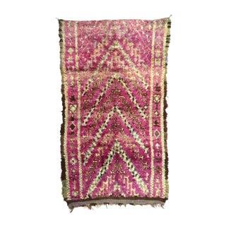 1960s Vintage Moroccan Talsint Rug - 5′9″ × 9′2″ For Sale