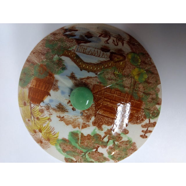 European Porcelain Coffee Service Bowl For Sale - Image 10 of 13