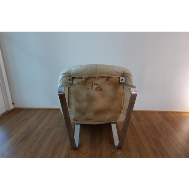 1970s Percival Lafer Earth Chair For Sale - Image 5 of 7